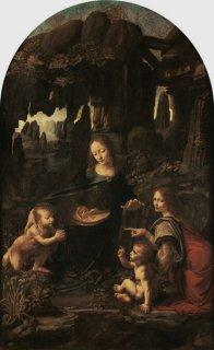 岩窟の聖母 ルーヴル美術館所蔵作品