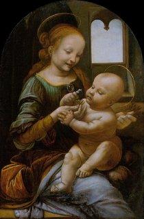 ブノワの聖母  原画同寸