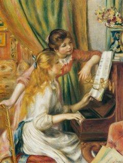 ピアノに寄る少女達(オルセー美術館)在庫あり 最短3営業日で発送
