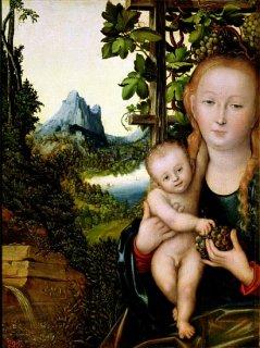 聖母子  原画同寸  選べる8種類の額装付き