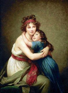 ヴィジェ=ルブランと娘、ジャンヌ・ジュリー・ルイーズ