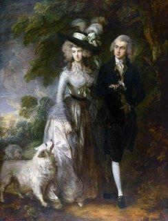 ウィリアム・ハレット夫妻(朝の散歩)