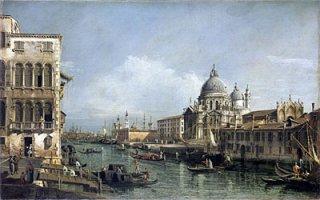 ヴェネツィア、大運河への入り口