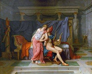 パリスとヘレネの恋