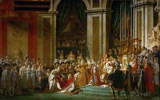 皇帝ナポレオン一世と皇妃ジョセフィーヌの戴冠