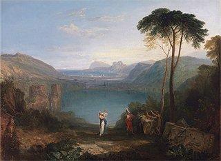 アヴェルヌス湖、アイネイアスと巫女