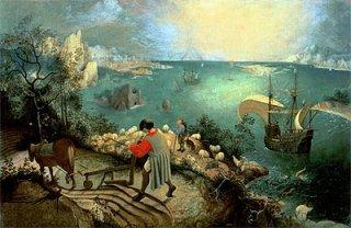 イカロスの墜落のある風景