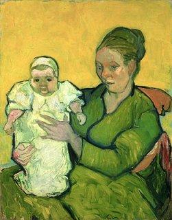 オーギュスタン・ルーラン夫人と赤ん坊(フィラデルフィア美術館作品)
