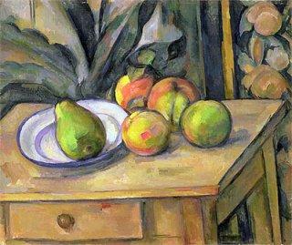 果物とタペストリー