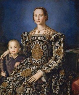 エレオノーラ・ディ・トレドと息子、ジョヴァンニの肖像