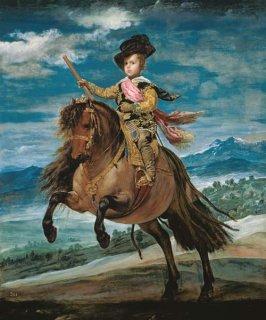 バルタサール・カルロス王子騎馬像