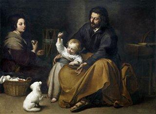 小鳥のいる聖家族