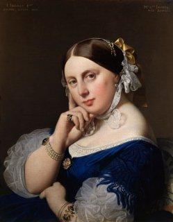 アングル夫人の肖像  原画同寸