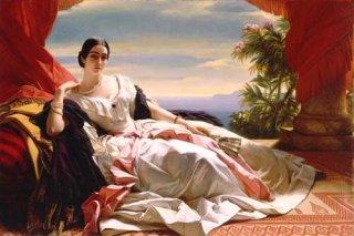 ザイン・ヴィトゲンシュタイン・ザイン侯妃 レオニラ・バリャティンスカヤの肖像