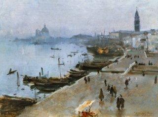 曇り空のヴェネツィア