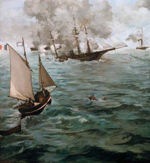 キアセージ号とアラバマ号の海戦