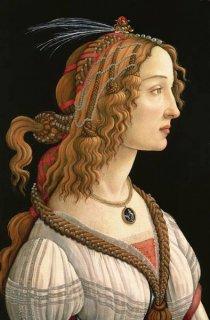 若い女性の肖像(シモネッタ・ヴェスプッチ)