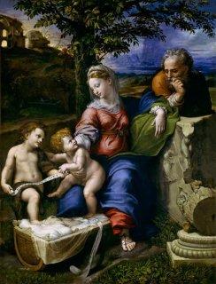 樫の木下の聖家族