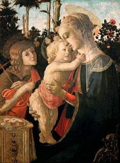 聖母子と若き洗礼者ヨハネ