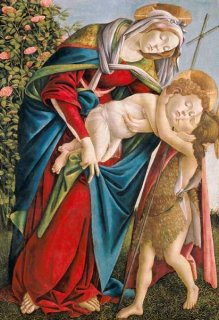 聖母子と洗礼者ヨハネ