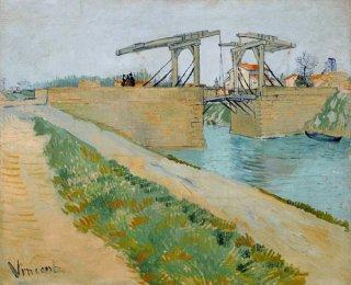 アルルの側道のあるラングロワ橋
