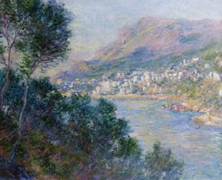 モンテ・カルロ、マルタン岬の眺め