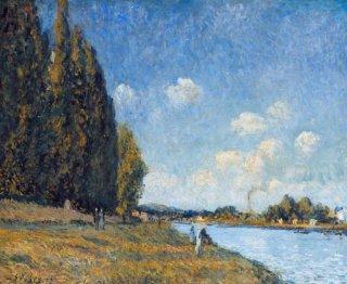 ビランコートのセーヌ川