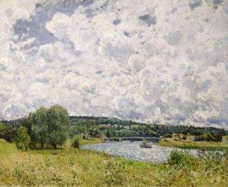 シュレーヌのセーヌ川