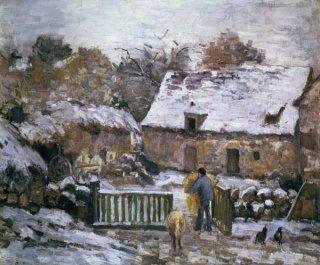 モンフーコーの農場、雪の効果