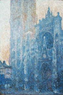 ルーアン大聖堂、扉口、朝の効果