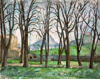 ジャ・ド・ブッファンの栗の木