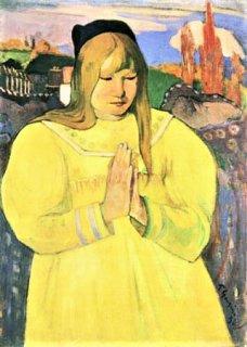 ブルターニュ女性の祈り