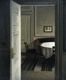 ストランゲーゼ30番地、室内  原画同寸