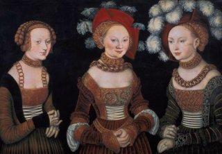 ザクセンの王女達、シビラ、エミリア、そしてシドニア