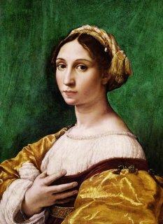若い女の肖像