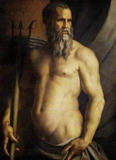 ネプチューンとしてのアンドレア・ドリアの肖像
