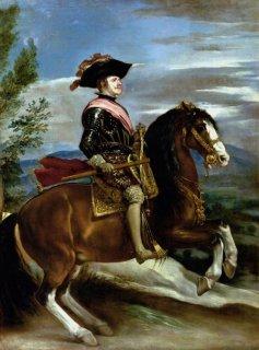 スペイン国王フェリペ四世騎馬像