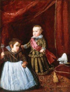 バルタザール・カルロス王子と小人