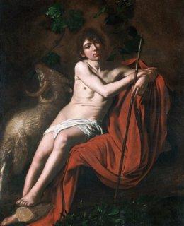 荒野の洗礼者聖ヨハネ