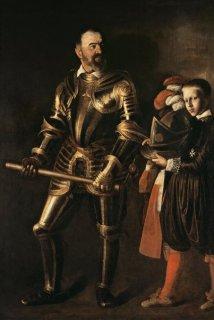 マルタ騎士団長、アロフ・ド・ヴィニャクールと召使の肖像