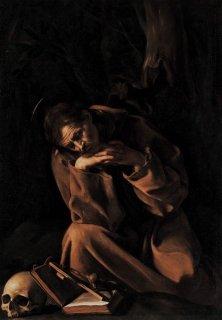 祈る聖フランチェスコ