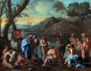 説教する聖ヨハネ