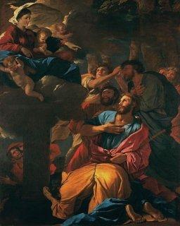 聖大ヤコブの前に現れる柱の聖母