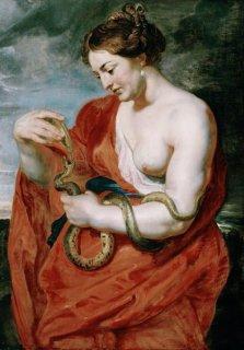 健康の女神、ヒュギエイア