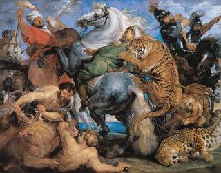 河馬と鰐の狩り