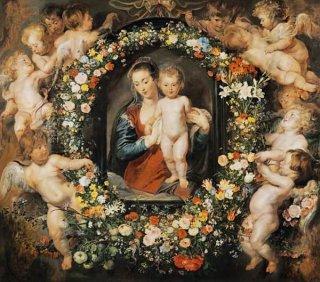 花輪の聖母