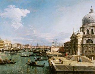 大運河と聖マリア大聖堂への入り口