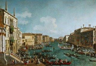 ヴェネツィア:大運河でのレガッタ