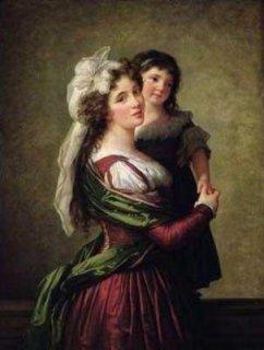 ルソー夫人と娘
