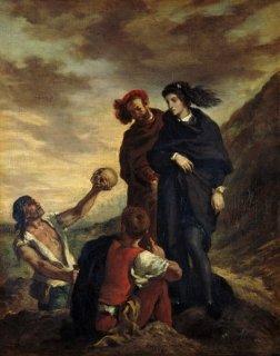 ハムレットと二人の墓穴掘り人夫